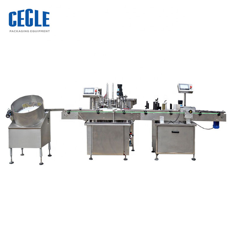 Full-Automatic liquid filling machine line for E-liquid 5-50ml