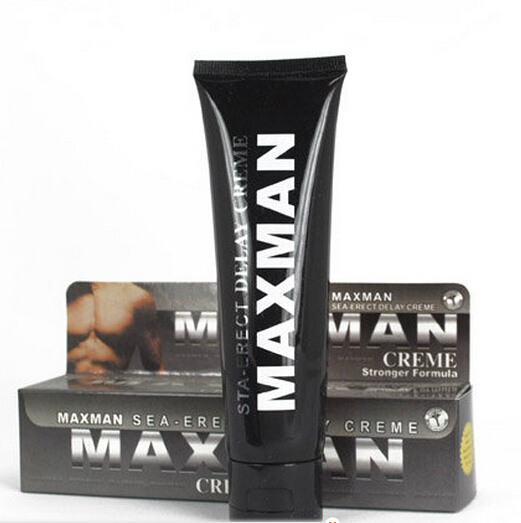 60ml OEM maxman herbal permanent male penis enlargement cream
