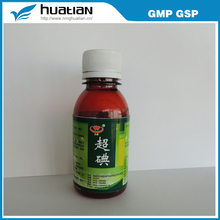 Strong clear harmgful virus/super-iodine solution/disinfection aquatic drug