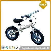 "2016 Baby Toy 12"",CE Approved New Model Kids Push Bike Kid Balance Bike"