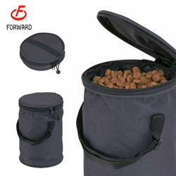 Oxford Foldable pet food storage bag dog food storage bag for wholesale
