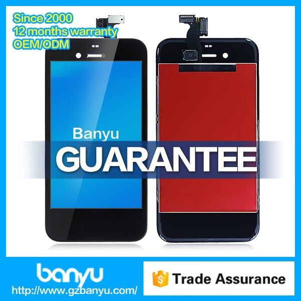 Banyu shop sells screen display assembly replacement for iphone 4s lcd