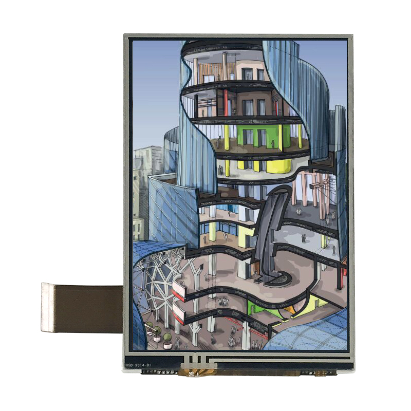 4 inch wvga 480*800 tft lcd screen with touch panel