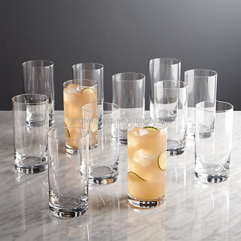 2016 hot sale peak highball glasses cocktail glasses wholesale