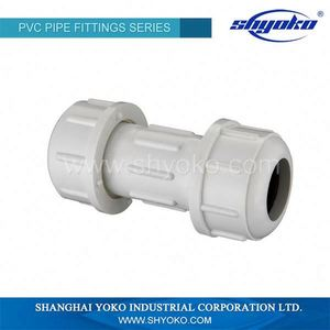 Chinese factory pvc sch 40 pipe fittings astm pvc quick connection