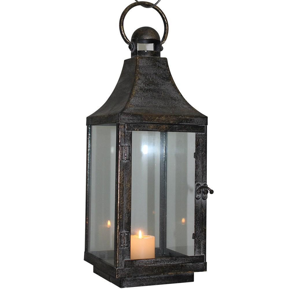 Wholesale antique metal candle holder lantern for home for Decor lanterns