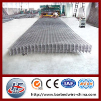 Factory Price Steel Rebar Welded Panel/Concrete Reinforcement Mesh Sheet/Reinforced Welded Wire Mesh Panel