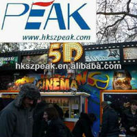 2014 newest 5D motion cinema 7D 9D moveis simulator