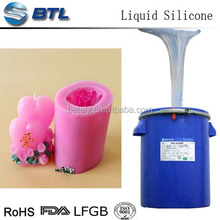 Liquid Molding Silicone Rubber for Making Candle mold ; Manufacturer & Best Price ; free curing agent