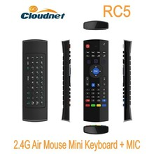 xxx arab 2.4G Air Mouse Remote Control RC5 Groscope Built in 6-Axis somatosensory Wireless Air Mouse with Keyboards
