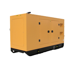 Global warranty silent type 100kw diesel genset with Cummins engine