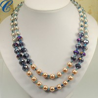 wholesale plastic pearl necklaces glass pearl necklaces shell pearl necklaces