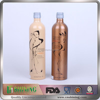 750ml distilled spirit grape wine drink spirits alcohol drink wine aluminum metal bottle