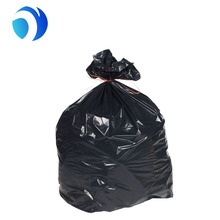 2017 hot sale costomized LDPE 42 gallon 3 mil heavy duty black plastic garbage bags trash bag contractor bags
