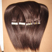 20INCH 100% Remy Pu Weft Brazilian Human Hair Extension, Super 3M Tape in Hair 40CM