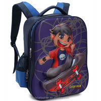 cute boy cartoon picture kids backpack made in China for children