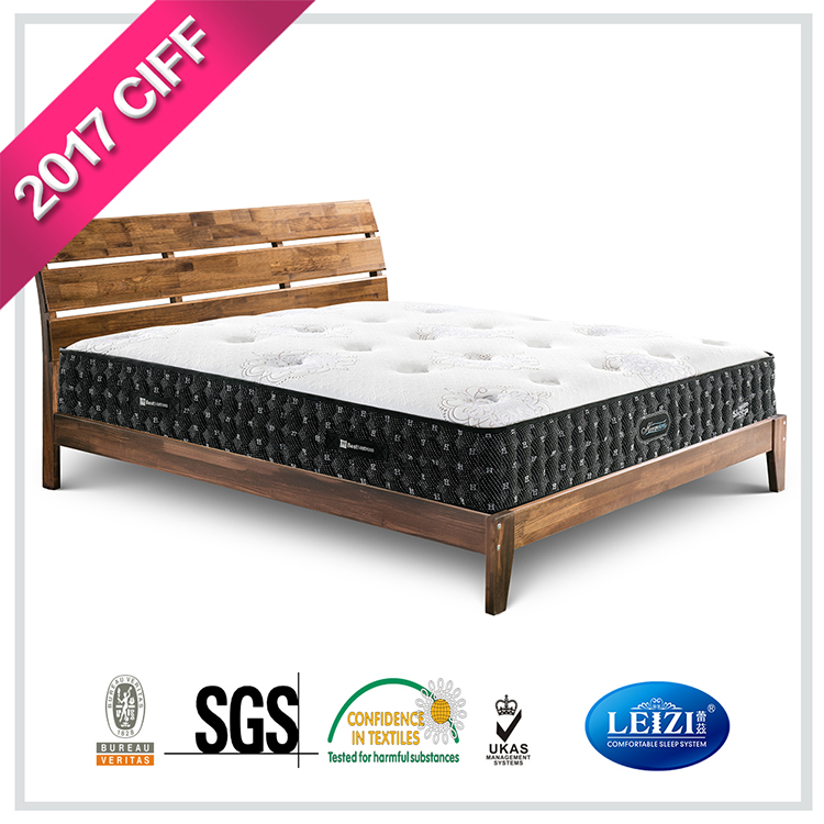 Single Size 40 Density Foam Spring Mattress in A Box
