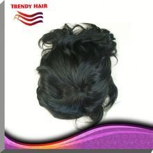 Afro Curly Toupees For Men Remy Hair Men's Replacement