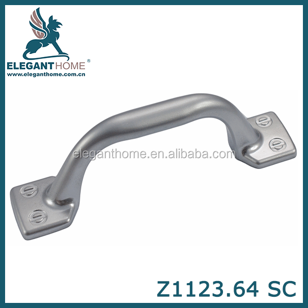High quality industrial zinc alloy refrigerator door handles