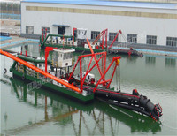 3500m3/h cutter suction dredger ship for sale