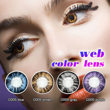 wholesale colored contacts cat eye crazy contact lens
