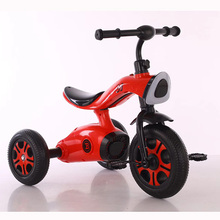 China Wholesale Cheap Children Tricycle portable baby Trike stroller toy With Music And Light kids Metal Tricycle