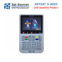 Professional Handheld DVB-S2 Satellite Finder Meter SKYSAT S-8005 with 3.5 inch LCD Screen Spectrum Analyzer