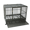 outdoor folding heavy duty metal square tube dog kennel