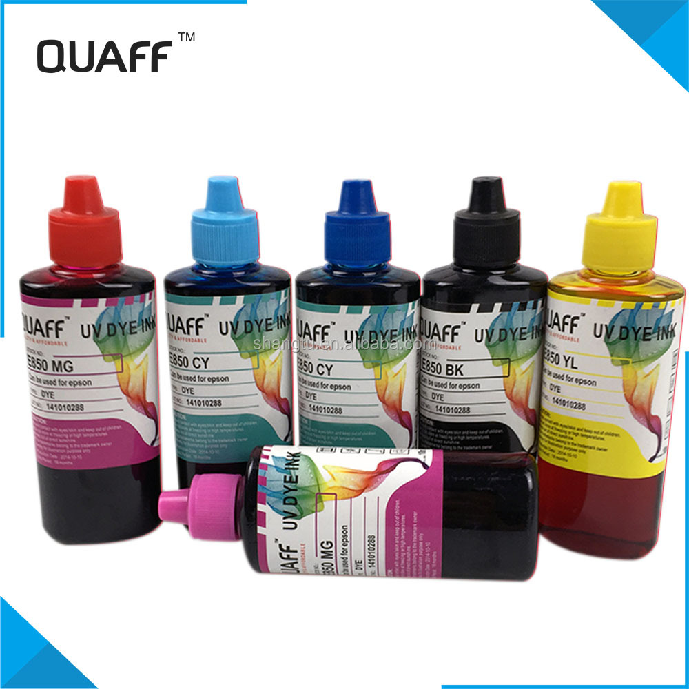 QUAFF uv dye ink for EPSON