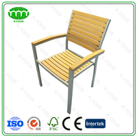 Hot Selling Wooden Outdoor Furniture with Aluminum Pipe