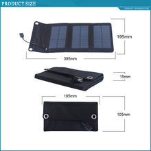 laminate hottest selling back pack 5w waterproof solar charger for mobile phone powerbank etc