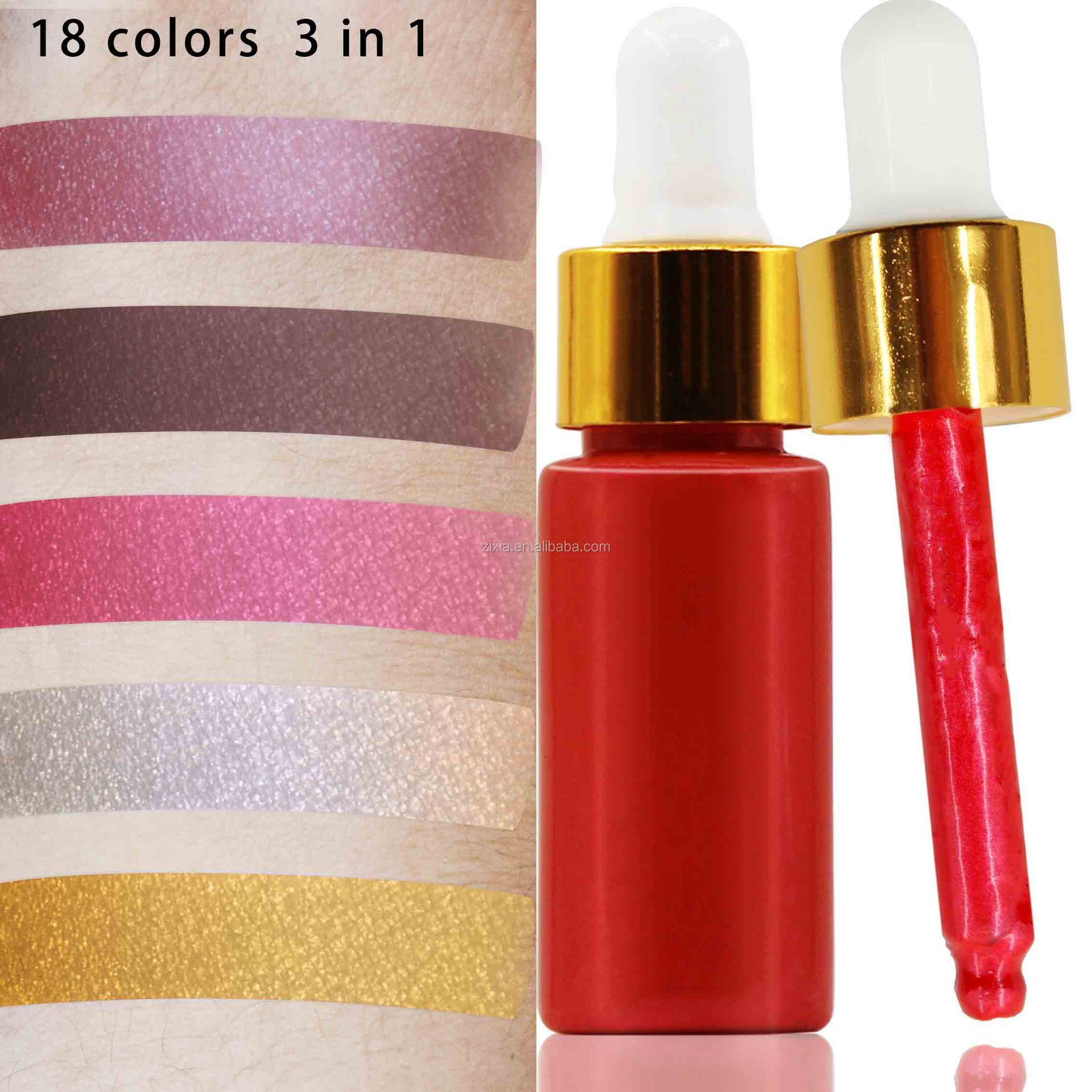 hot products best color cosmetics highlighter brush make your logo make up highlighter