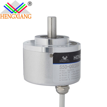 Square-wave encoder rotary 2048 line encoder with coupling