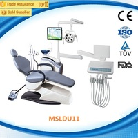 CE multi function dental chair/dental chair spare parts/dental chair China (MSLDU11D)