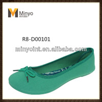 Minyo Hot sell lady popular summer flat shoes new arrival lady flat shoes