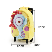 Plush Children Backpack Baby Kids School Trolly Backpack Bag