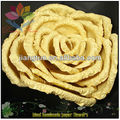 2013 large gold paper make paper flower
