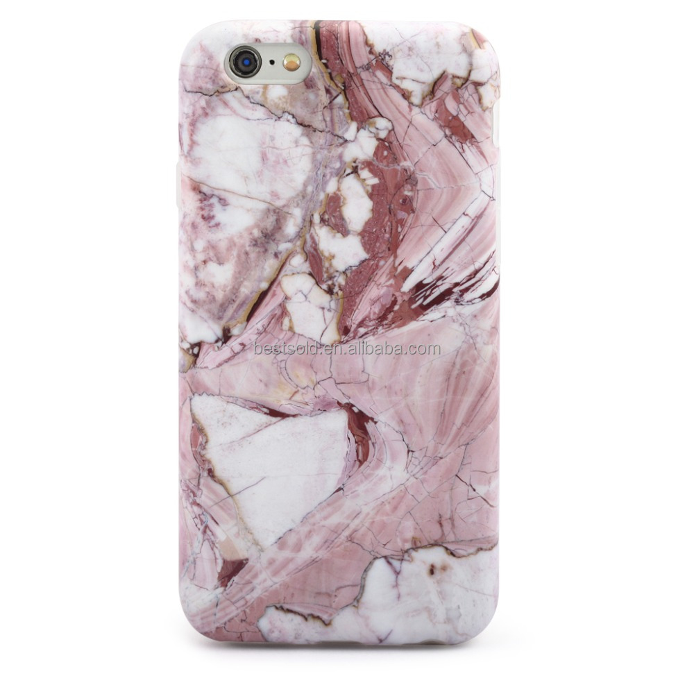 IMD Full Printing Matte Finishing Free Mobile Phone TPU Case for iphone 5 6 6plus - Marble