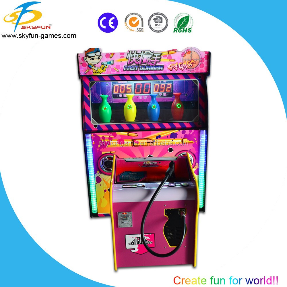 electronic shooting range,simulator shooting game machine Fast gun man,gun shooting simulator