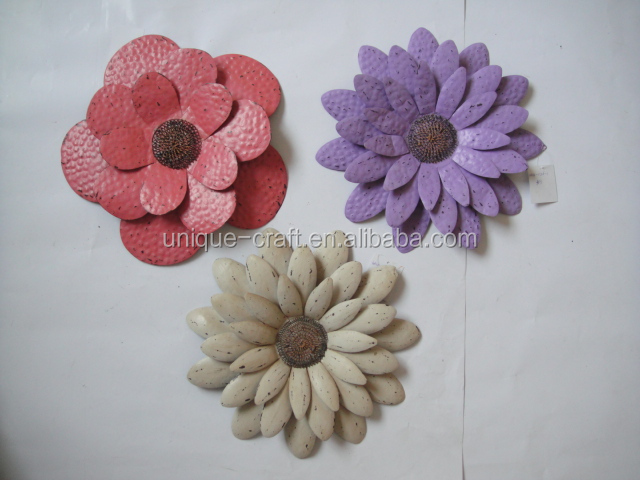 Home ornament decorative wall hanging artificial flowers