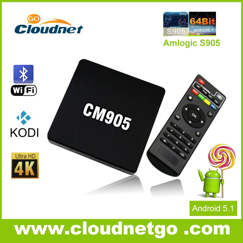 2016 Newest Cloudnetgo X96 S905X Android6.0 TV Box 2G RAM 16GB ROM