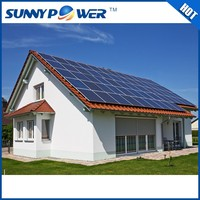 china wholesale 3kw 3 phase solar power system / 3000wh portable solar