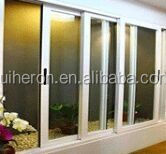 2016 New standard water resistant aluminium alloy frame glass sliding window with high quality cheap price