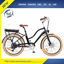 48V Comfortable Pedelec E Bike 70KM Long Driving Range Electric Bicycle for Sale/Rent