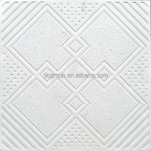 High quality suspended 60x60 gypsum ceiling tile ceiling sheets