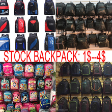 Cheap Stock Back Pack Bag, Genuine Leather School Backpack Bags