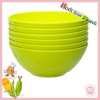 Full-Natural Eco-friendly Non-toxic PLA Healthy Bowls Green Color