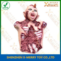 X-MERRY Rubber Latex Kids Torso Bloody Props For Haunted House Off the Wall Decoration In Halloween