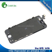 Wholesale Black White color front assembly lcd display touch screen digitizer for iPhone 5 5G
