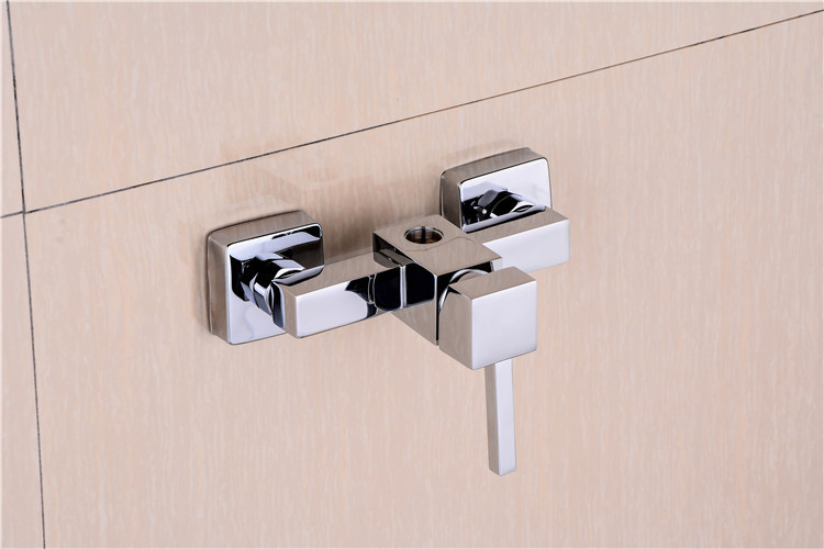 QL-0733 ce antique cheap square brass bathroom shower faucet